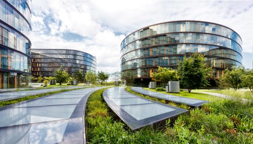 Image of the new George office at Erste Campus